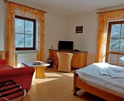 Čisté a útulné pokoje